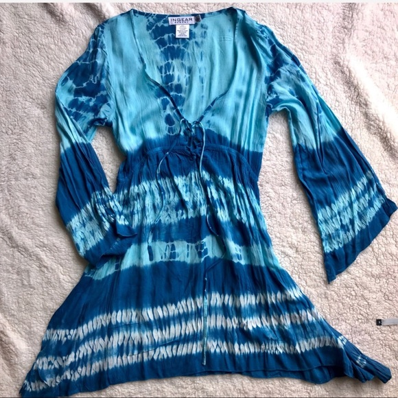9811b88b216 Ingear Other - Blue Swimsuit Coverup Dress